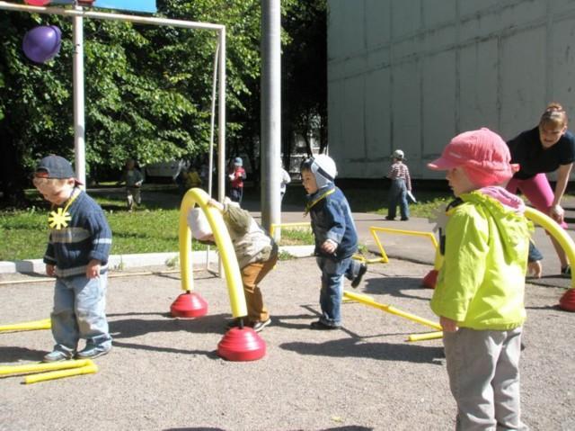 Спортплощадка в детском саду