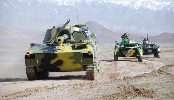 На севере Таджикистана проходят антитеррористические учения