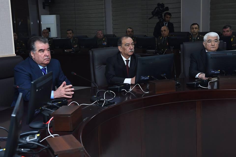 В Таджикистане появился автоматизированный Центр управления Вооруженными силами