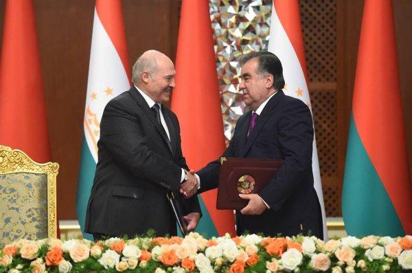 Таджикистан и Беларусь определились с картой сотрудничества до 2020 года