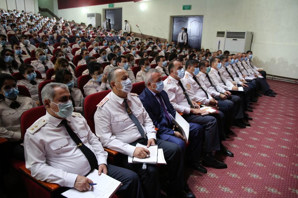Глава МВД Таджикистана поручил обеспечить безопасность в ходе предстоящих саммитов в Душанбе